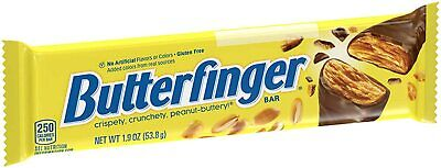 Butter Finger Bar 53.8 g - Pack of 6 - American Chocolate