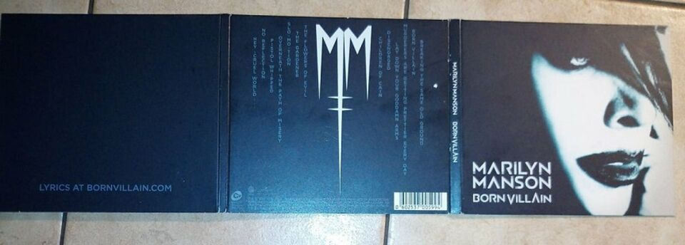 Marilyn Manson CD - Born Villain in Wuppertal