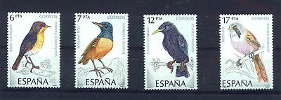 Spanish Stamps - 1985 Birds  In MNH