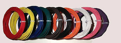 New 10 Awg Gauge 600 Volt Thhn Stranded Copper Wire Black Red 25 Feet Each