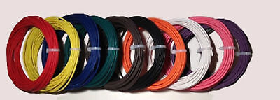 New 14 Awg Gauge 600 Volt 100 Thhn Stranded Copper Wire 12 Colors Available