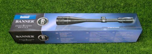 Bushnell Banner 6-18x50mm (Multi-X Reticle) AO Riflescope, Matte Black - 616185