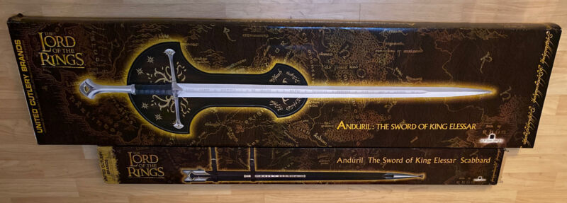 United Cutlery UC1380 TLOTR Anduril, Sword of King Elessar + Scabbard