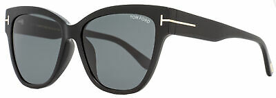 Tom Ford Cateye Sunglasses TF547K 01A Black/Gold 58mm (Tom Ford Cat Eye Sunglasses)