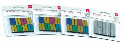 Ac Tools Mini Staples Refills For Mini Stapler Multi-colors Grey 6400 Staples