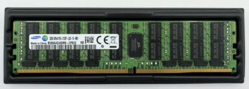 Samsung 32GB DDR4 2133MHz SERVER ECC Registered LRDIMM RAM M386A4G40DM0-CPB / 2Q
