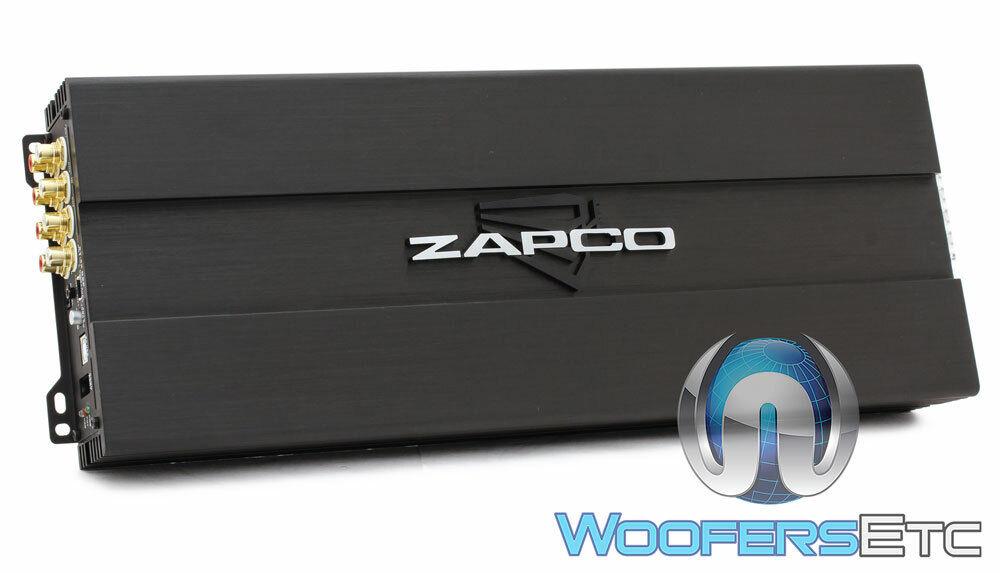 ZAPCO ST-6X DSP AMP 6-CHANNEL 900W RMS CLASS AB AMPLIFIER W