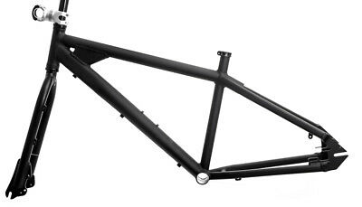 "Swobo Folsom MD 16"" 26"" 6061 Alloy Single Speed Disc BMX MTB Bike Frame Fork NEW"