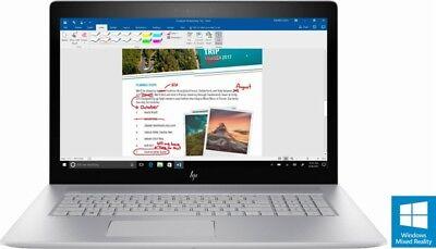 "HP Envy Laptop 17t 17 17.3"" UHD 4K i7-7500U 16GB 512GB SSD NVMe 4GB 940MX BL Key"