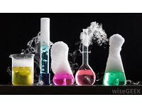 Chemistry and Mathematics tutoring £16 per hour