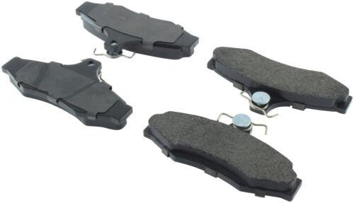 Disc Brake Pad Set-Semi-Metallic Disc Brake Pad Rear Bendix MKD724