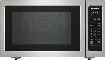 KitchenAid 1.5 Cu. Ft. Convection Microwave with Sensor Cooking and Grilling ...