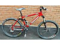 Kona Dawg Full Suspension Mountain Bike