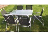 Patio set Six chairs