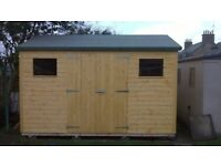 SALE: 10ft x 6ft Wooden Garden Shed
