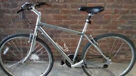 Men's Specialized Crossroads Sport Hybrid Bike + Specialized Helmet and Lock