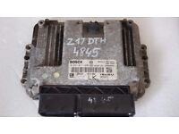 OPEL VAUXHALL ASTRA H 1.7 ECU Z17DTH 0281011380 12992628 8973729171 LK RESETED