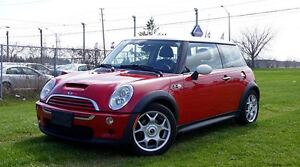 2005 MINI COOPER S 6 SPEED MANUAL