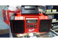 milwaukee m18 jsr-0 portable radio