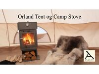The beautiful Orland Stove - Brand new, never used - Limited numbers made - now £150 off.