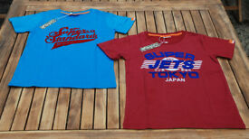 Boys superdry t-shirts - 2, new