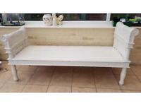 Shabby Chic Bench seat