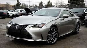 2015 Lexus RC 350 F SPORT PACKAGE /AWD / NAVIGATION/RED SEATS/CO