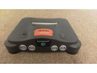 Nintendo 64 bundle - 4 controllers, expansion pack, 19 games, 2 controller packs, 2 rumble packs