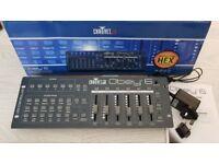 CHAUVET DJ Obey 6 Lighting Controller 6 Channel DMX 512 Brand New