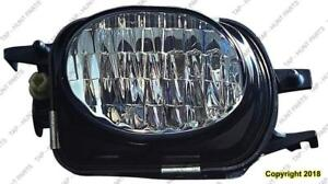 Fog Lamp Passenger Side Withamg Package High Quality Mercedes C-Class 2001-2007