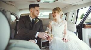WEDDING LIMO LIMOUSINE RENTAL - ROLLS ROYCE PHANTOM