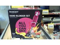 silvercrest hand blender set