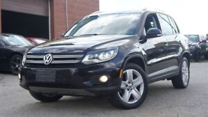 2012 Volkswagen Tiguan 2.0 TSI, Low KMs, AWD, Leather, Sunroof
