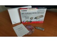 802.11 b/g Wireless LAN Mini USB Adapter