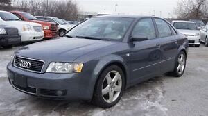 2004 Audi A4 1.8 T * QUATTRO AWD * LEATHER * SUNROOF *