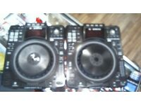 DENON SC2900 PAIR OF DECKS