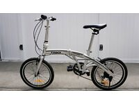 Trinxx classic folding city bike