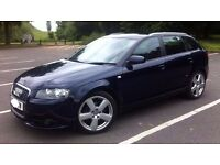 Audi A3 2.0 tdi s line (2007) FSH 3 PREVIOUS OWNERS MOT MARCH 18