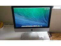 IMAC 21.5 - inch, Late 2013, 2.9 Ghz Core i5, 8GB 1600MHZDDR3,GeForce GT750M(1Gb), OS X 10