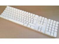 Genuine Apple Wireless Bluetooth A1016, Mac Pro iMac White Keyboard UK English QWERTY Layout