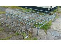 Land Rover Defender 90 galvanized roof rack