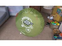Quechua Easy 2 Seconds 2 Persons Pop Up Tent - Excellent Condition