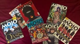 HUGE BOX of MOJO magazines - mainly from the 1990's £50 for immediate collection
