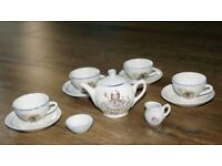 Nursery Rhyme Child's China Tea Set