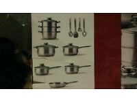 18 price cookware set (BRAND NEW)