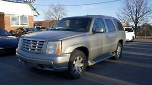 2002 Cadillac Escalade AS-IS SPECIAL SALE!!! AWD * LEATHER * SUN