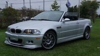 2002 BMW M M3 Series Convertible 6 Speed 3M