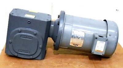 Boston Lutfb-b Brake Motor F732-20-b9-j Right Angle Worm Gear Speed Reducer