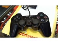 WIRED PS2 CONTROLLER. WITH 6 MONTHS WARRANTY.