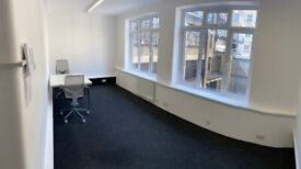 Covid Flexible Contract - Small Private Office - *Soho* 2 minutes from Tottenham Court Road Station